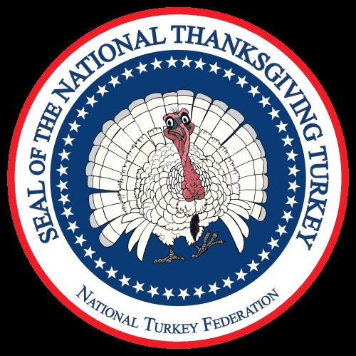 National Thanksgiving Turkey Emblem