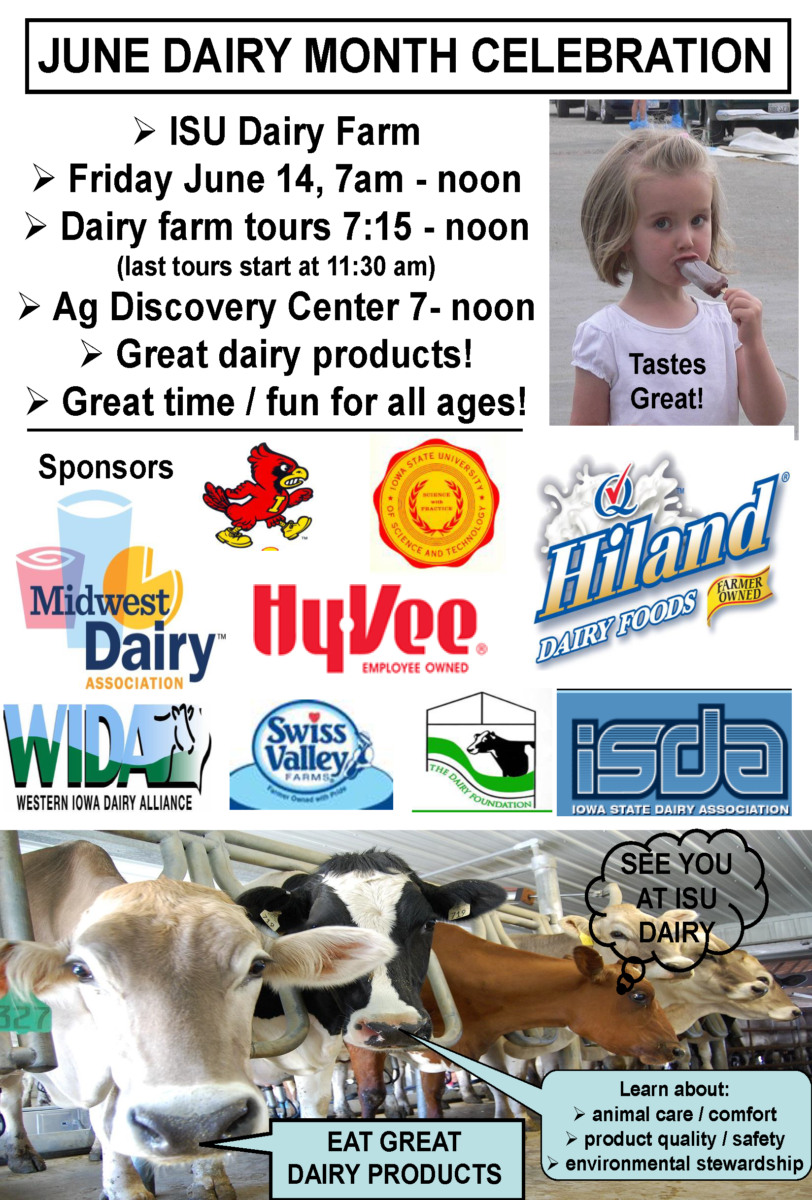 June Dairy Month 2019 flyer