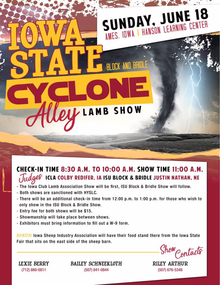 Cyclone Alley Lamb Show