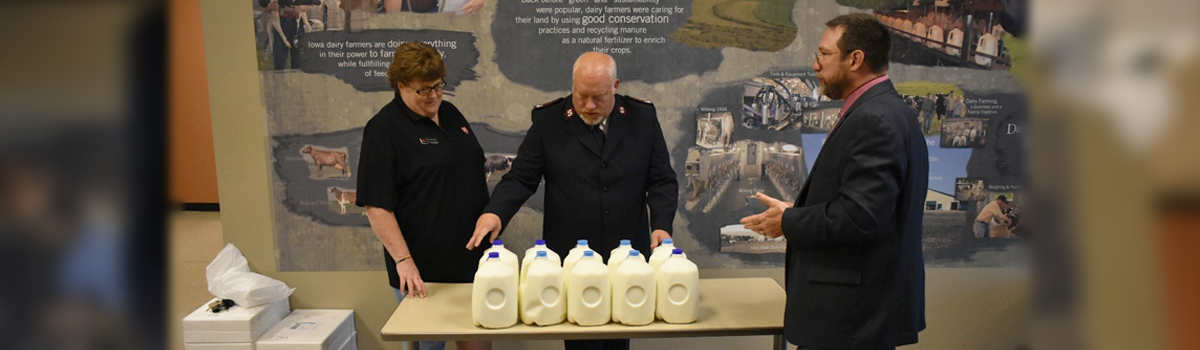 10 Gallon Challenge milk donation