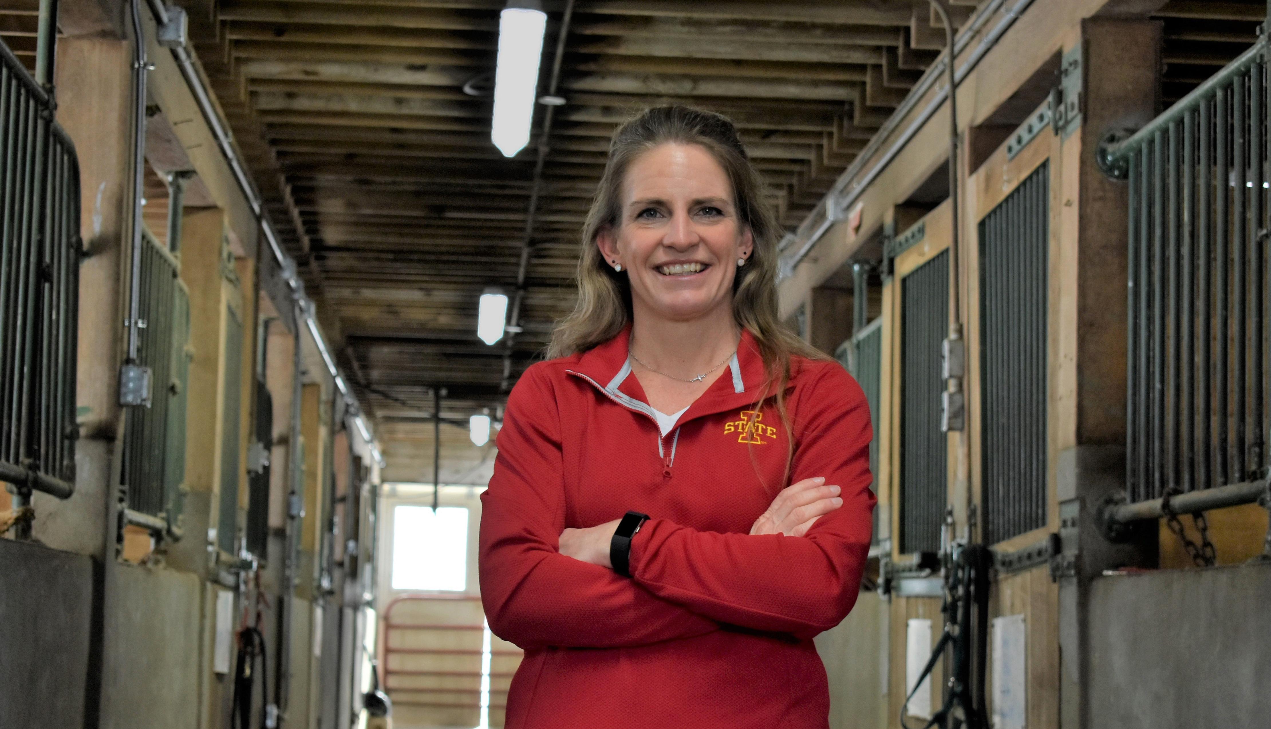 Equine Farm Manager Nikki Ferwerda