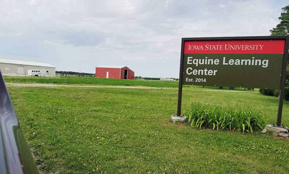 Equine Learning Center sign
