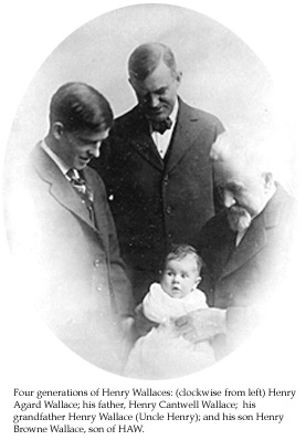 Henry A. Wallace Family