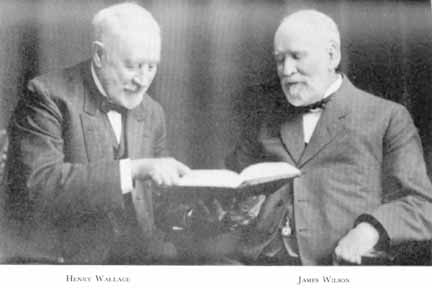 Henry Wallace & James Wilson
