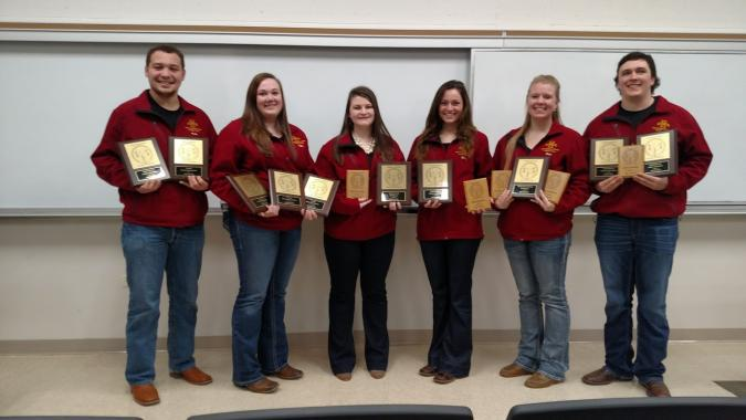 Southeastern Meat Judging Team