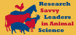 Research Savvy Leaders in Animal Science logo