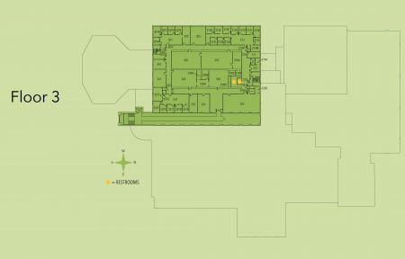 Map of Kildee third floor